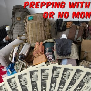 Prepping With Little Or No Money