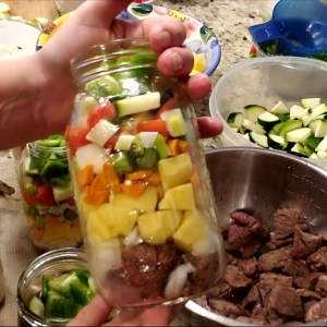 Pressure Canning Beef Stew~ Make Ready to Eat Meals