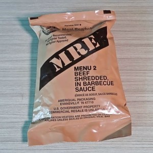 Tasting 2018 US Military MRE Menu #2 (Meal Ready to Eat)