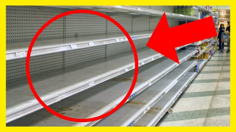 FOOD SHORTAGE SURVIVAL TIPS - Buy These 12 Things Now! Start Prepping for Extreme Food Shortages