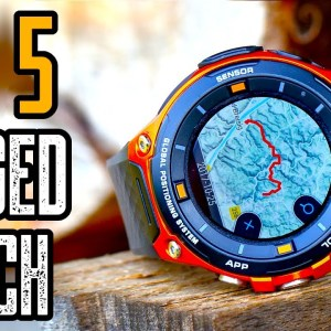TOP 5 BEST RUGGED GPS SMARTWATCHES FOR MEN