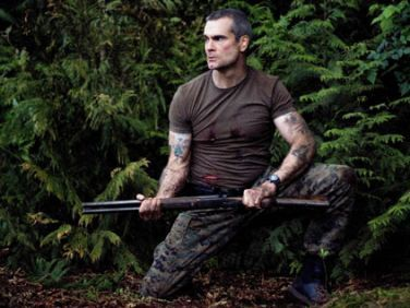 musician Henry Rollins Survival Songs