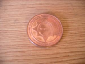 TSP Copper Round