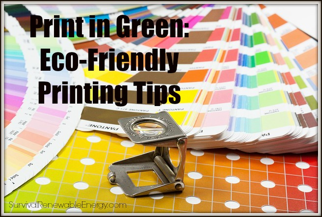 Print in Green: Eco-Friendly Printing Tips