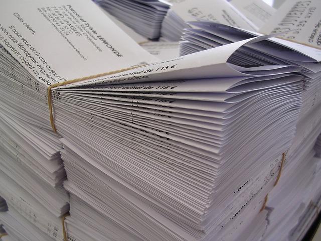 Reduce paper