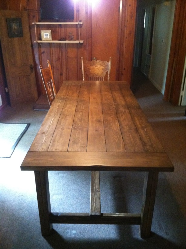 Build Farmhouse Table Plans With Leaves DIY PDF Nook