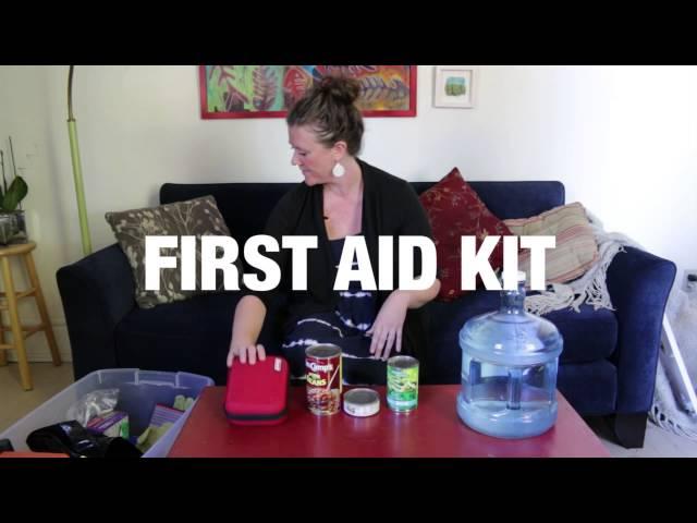 Unboxing An Emergency Preparedness Kit