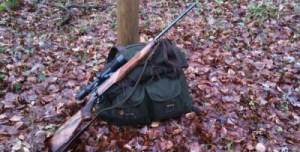 Bug out bag with rifle