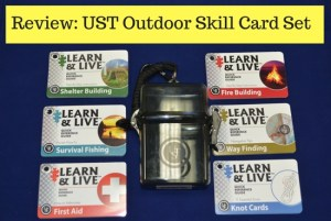 UST Outdoor skill card review
