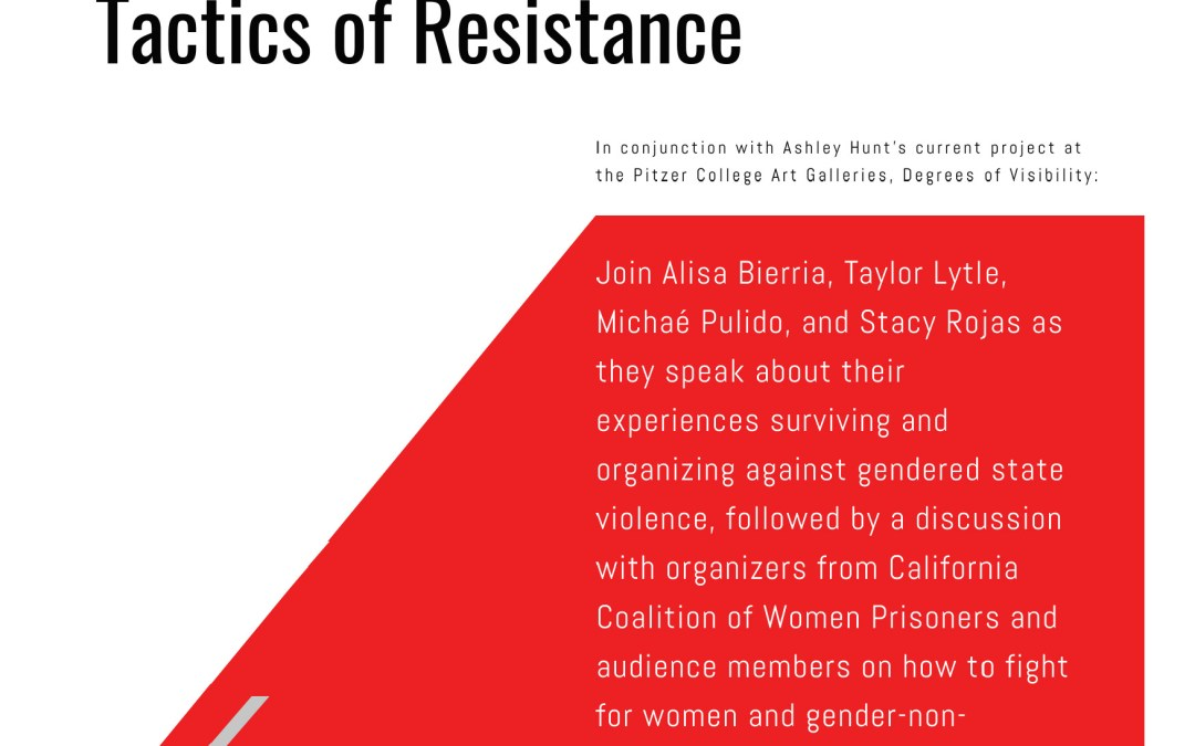Oct 10, Los Angeles: Gender Violence Behind Bars: Tactics of Resistance