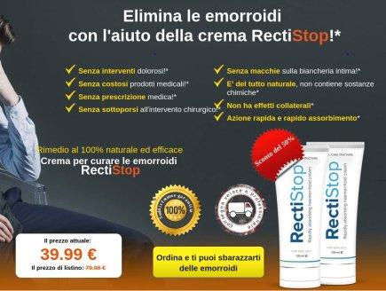 RectiStop : opinioni - prezzo - funziona - Italia - effetti collaterali ...