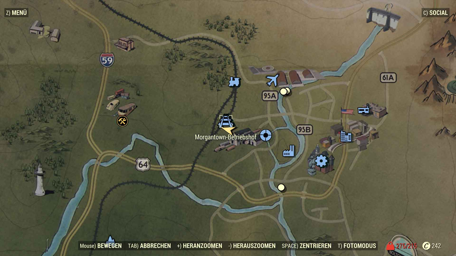 Fallout 76 Garantierter Power Armor Fundort Survivethis