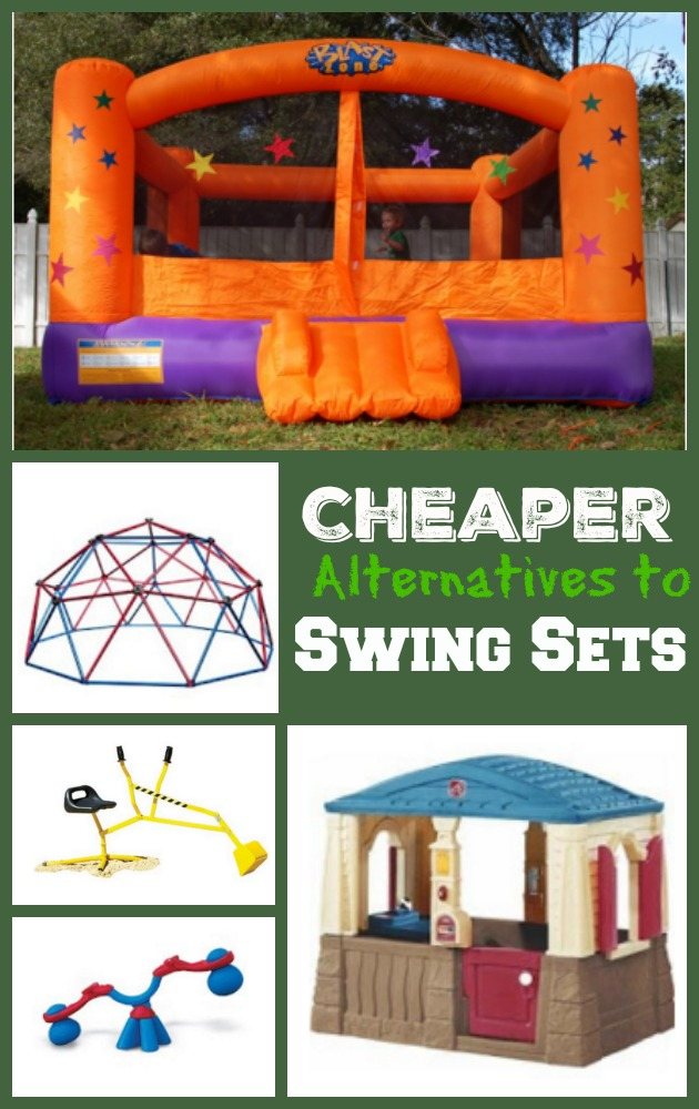 Cheaper Alternatives To A Swing Set For Outdoor Play