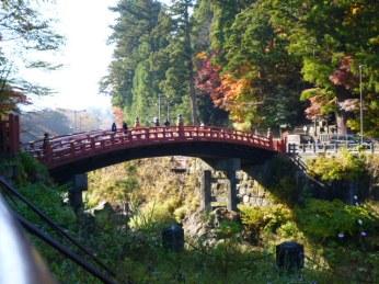 The famous Shinkyo bridge.