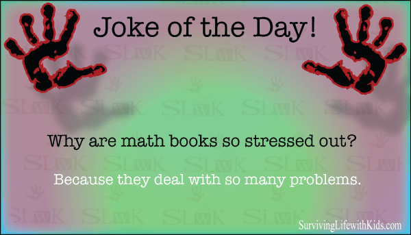 Why are math textbooks so stressed out?