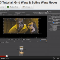 Learning VFX Compositing Skill 10: Warping