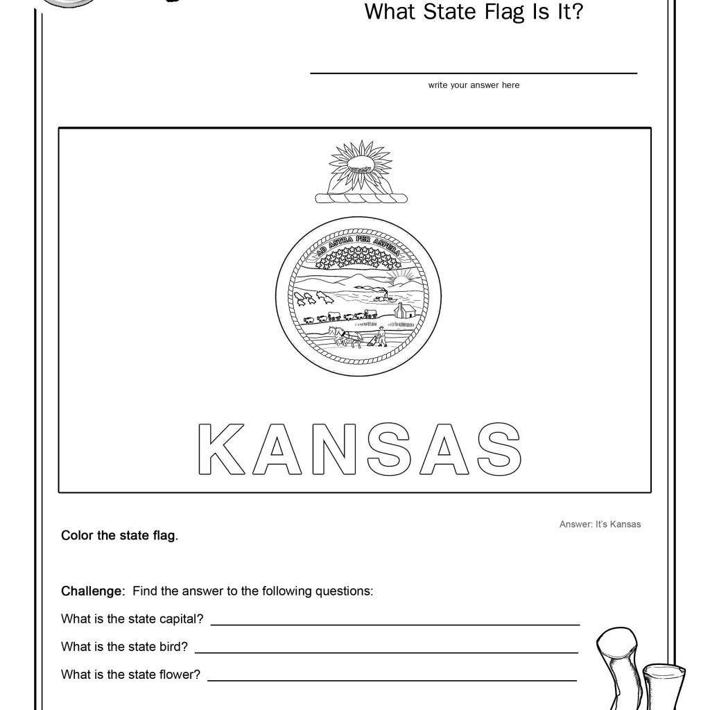 Kansas Geography Worksheet