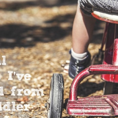 Spiritual Lessons I'm Learning from My Toddler