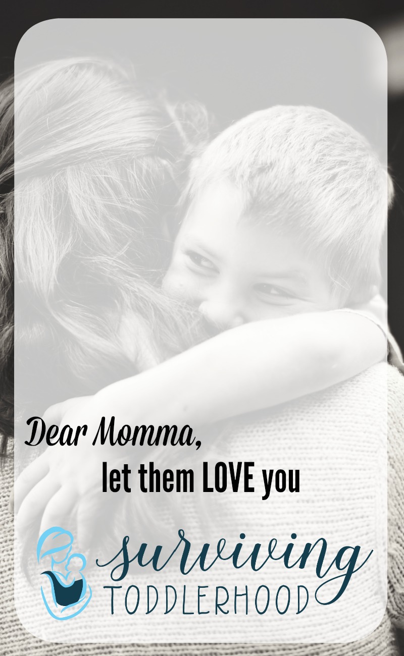 Don't push away your children's attempts to love you because you are too busy, or dirty, or upset. Allow your family and your Heavenly Father to shower you with love, let them bless you, and accept the blessing of love.