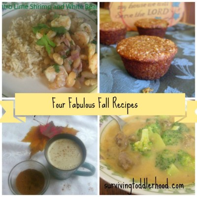 Four Fabulous Fall Recipes
