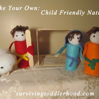Make Your Own: Child Friendly Nativity