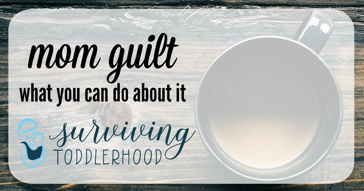 fight mom guilt as you do these things