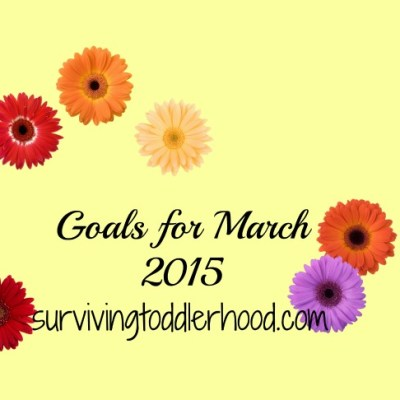 Goals for March: What We Did and Didn't Do