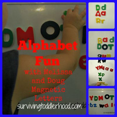 Alphabet Fun with Melissa and Doug Magnetic Letters