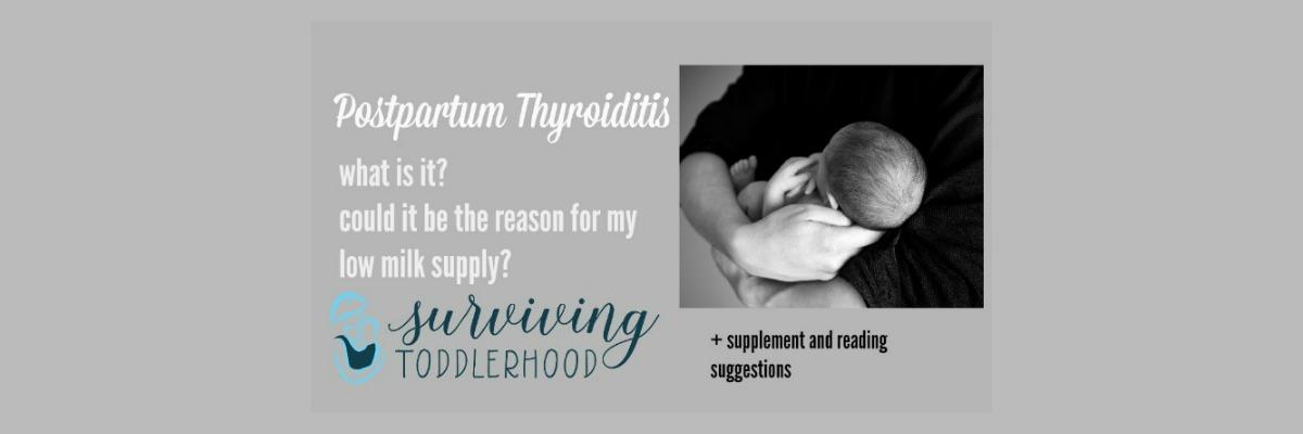 Dealing with Postpartum Thyroiditis