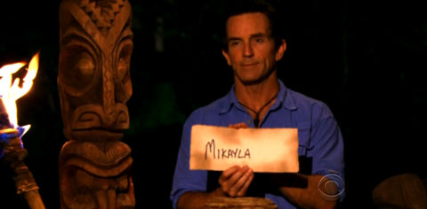 Survivor South Pacific Mikayla