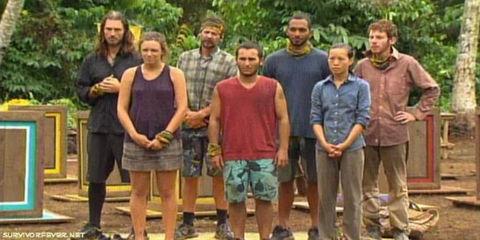 Survivor South Pacific castaways