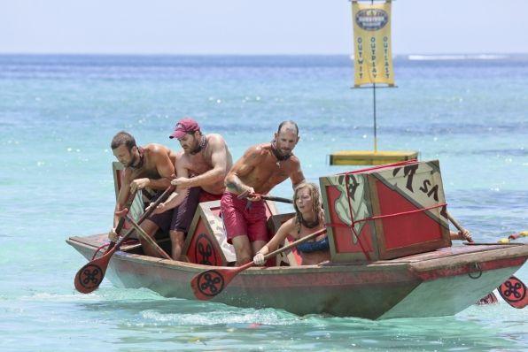 Survivor 2013 – Immunity Challenge Week 4 – 06
