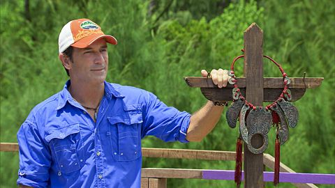 Survivor 2013 - Jeff Probst hosts final Immunity Challenge