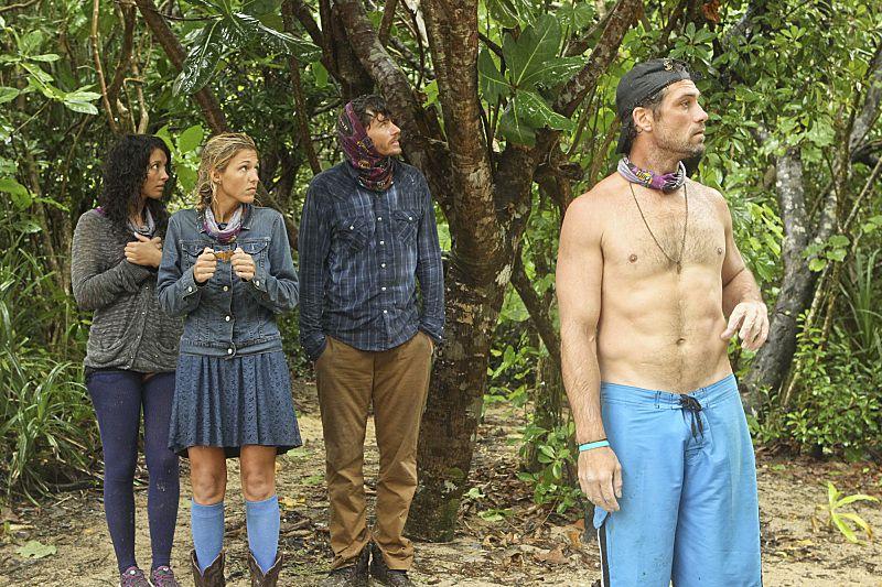 Solana looks for LJ's shirt
