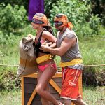 Aparri competes on Survivor