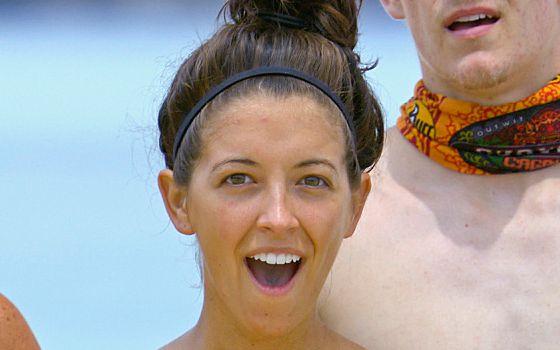 Survivor 2014 s28e05 - Alexis is Shocked