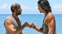 Tony & Woo on Survivor 2014 Cagayan
