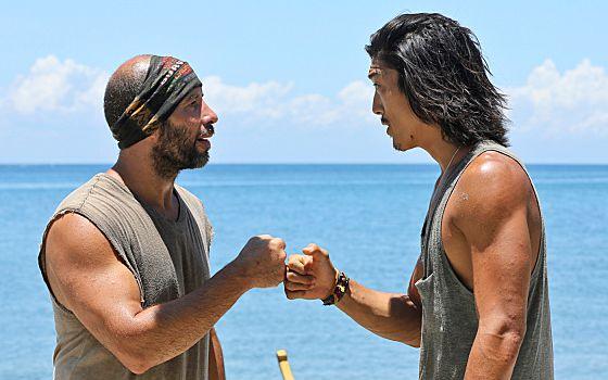 Tony & Woo on Survivor 2014 Cagayan