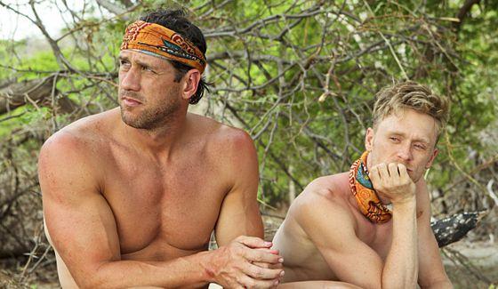 John Rocker and Josh Canfield on Survivor