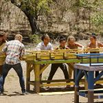 Yellow tribe competes for Immunity
