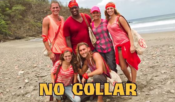 Survivor 2015 - No Collar Tribe on Worlds Apart
