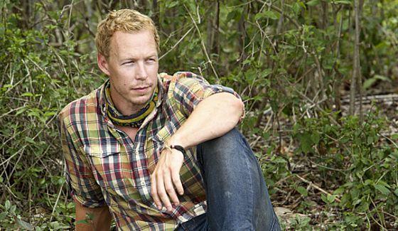 Survivor 2015's Tyler Fredrickson sits back & waits
