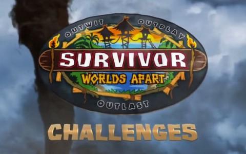 Survivor 2015 Challenges: Worlds Apart