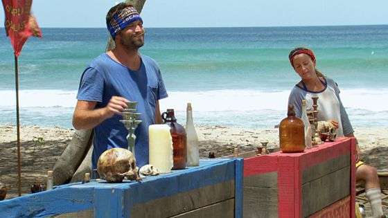 Mike Holloway & Kelly Remington on Survivor 2015