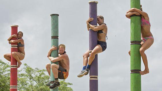 Survivor 2015 castaways compete for Immunity
