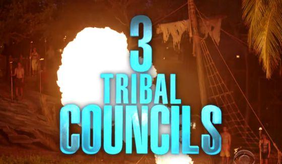 Survivor 2015 Finale with 3 Tribal Councils