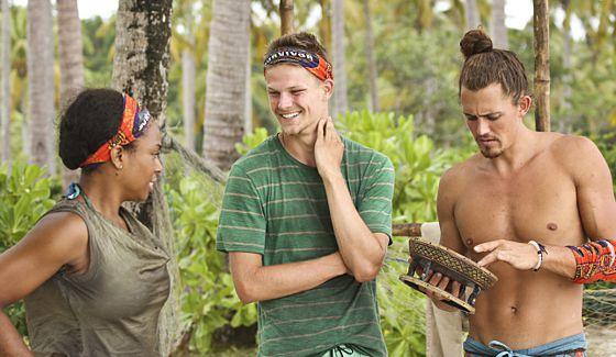 Tasha, Spencer, and Joe on Survivor 2015