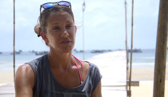 Kelly Wiglesworth at Ponderosa on Survivor 2015