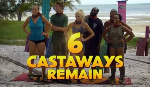 Six castaways remain on Survivor 2015 Second Chance