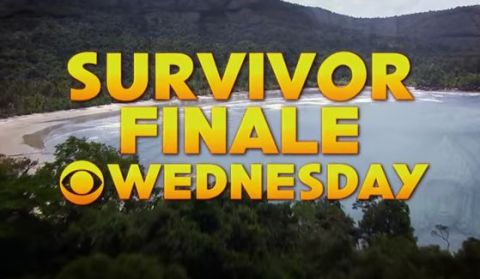Survivor Finale on Wednesday